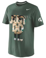 Nike Michigan State Spartans Green