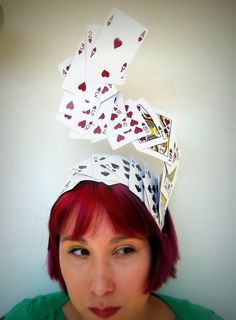 Hey, I found this really awesome Etsy listing at https://www.etsy.com/au/listing/168590953/swirling-deck-of-cards-headpiece