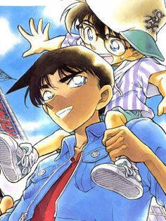 Heiji and Conan