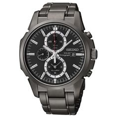 Our Watch of the Day is this all black Seiko SSC095. Get it here >>>