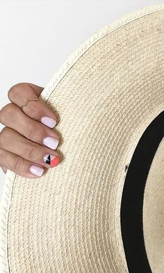 Nail art, manicure, gel manicure, funny bunny opi gel, vacation nails See More at www.HerFashionedLife.com  #beach #vacation