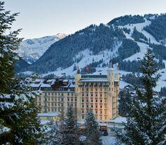 Le Gstaad Palace, un hôtel d'exception au cœur des alpes suisses http://journalduluxe.fr/gstaad-palace/