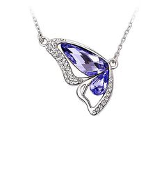 Another great find on #zulily! MESTIGE Purple Crystal Pendant Necklace Made With SWAROVSKI ELEMENTS by MESTIGE #zulilyfinds