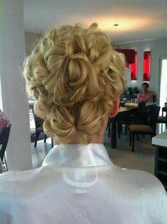 my wedding hair