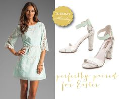 Easter inspired Shoesday » Pearls for Paper