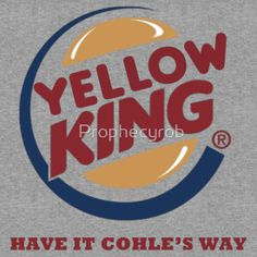 Yellow King Cohle Logo 2