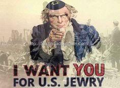 A entrada do EUA na Primeira Guerra Mundial pela indução judaica Sionista