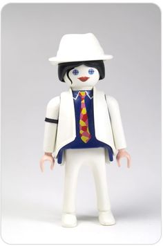 Playmobil Michael Jackson - Very White ! Michael Jackson Doll, Playmobil Toys, Living Dead Dolls, Barbie, Draw On Photos, Bright Stars, Toy Boxes, Doll Toys, Legos