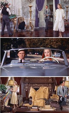 Coat worn by Grace Kelly in High Society (in my humble opinion, way better than oryginal Philadelphia Story) with amazing rainbow lining