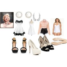 """""""Marilyn Monroe Tribute"""" by crazybossette on Polyvore"""
