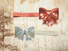 Cute bows on elastic