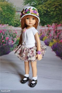 Наряды для куколки от Дианны Эффнер / Одежда для кукол / Шопик. Продать купить куклу / Бэйбики. Куклы фото. Одежда для кукол