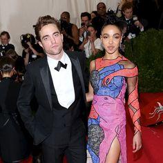 Le premier tapis rouge de Robert Pattinson et sa fiancée FKA Twigs - Les plus beaux couples et duos du MET Gala 2015 | HollywoodPQ.com
