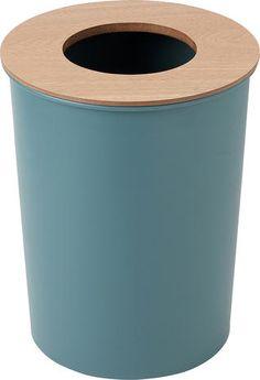 C WOOD_ダストボックス(ブルーグリーン):ナチュラル,北欧,ブルー系,Home's Style(ホームズスタイル)のゴミ箱・ダストボックスの画像