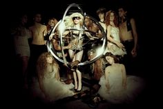 lady gaga, music, monster ball tour promo, 2011