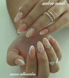 Nail Patterns, Manicure, Nails, Color Inspiration, Beauty, Wedding, Art, Nail Bar, Beleza