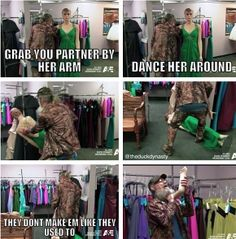 Duck dynasty. Love that!!!!!  The part when he chokes himself with the dummy, he's just in the background of Sadie and Willie... Hilarious!