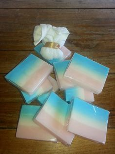 Baby Powder scented soap, great for a gift or just to relax!   http://www.rockethub.com/projects/48183-market-stall-makeover