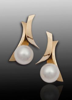 Fiore del Mare Earrings | Adam Neeley Fine Art Jewelry