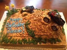 Mud bogging bday cake