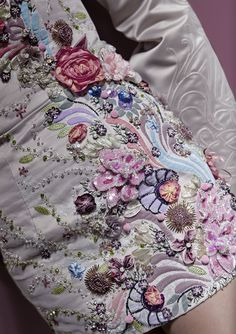 Karen Torisi, winner of the Hand and Lock prize 2011. Learn how to embroider to fashion industry standard from experts who work for Chanel, Louis Vuitton and more at https://www.mastered.com/course-listings/3