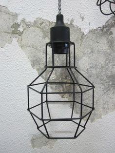 Verlichting : Draadlamp Dion zwart