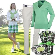 Ok, I might give golf a try since the clothes are soooo cute!