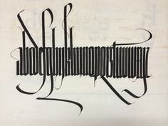 Calligraphy Initiative One of several pieces of calligraphy recently given by Jaki Svaren