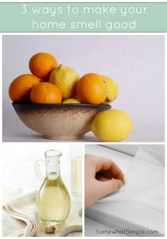 3 ways to make your home smell good