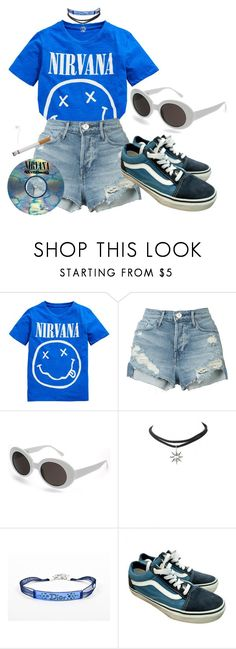 """""""Untitled #1392"""" by wavvy-k ❤ liked on Polyvore featuring Nirvana, 3x1, Lamoda, Christian Dior and Vans"""