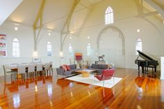 Incredible Church Conversion in Brisbane by Willis Greenhalgh Architects