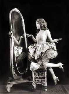 Mary Pickford, silent film star