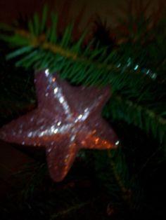 hvězdička ozdoba na stromku