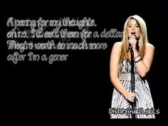 Lauren Alaina - If I Die Young (cover)