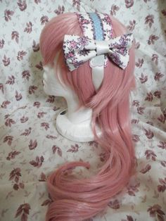 Classic Lolita Headband with bow by LittleCosplays on Etsy