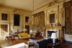 The most elegant of welcomes awaits you in the Entrance Hall  © National Trust Images/Andreas von Einsiedel