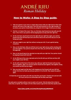How To Waltz Guide