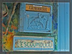 Courrier en bleu...  http://mistoulinetmistouline.eklablog.com https://www.facebook.com/pages/Mistoulin-et-Mistouline-en-Provence/384825751531072