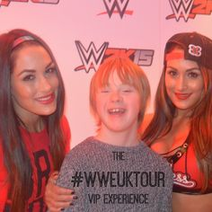 #WWEUKTour VIP - An Awesome Night Out For Any Aged Fan