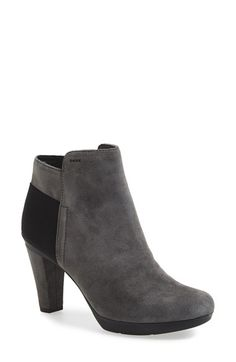 aea6a6d55e74f Geox 'Inspiration 1' Ankle Boot (Women) available at #Nordstrom Ankle Heels