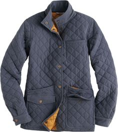 Women's Cortland Quilted Jacket - Duluth Trading