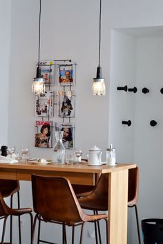 Brut | Paris - Magazine display idea for office break room