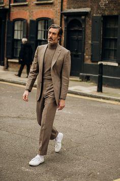 , Streetstyle на Неделе мужской моды в Лондоне