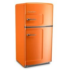 Big Chill retro fridges combine the iconic look of a style vintage refrigerator with the amenities of contemporary appliances Major Kitchen Appliances, Vintage Appliances, Kitchen Reno, Vintage Refrigerator, Retro Fridge, Vintage Kitchen, Retro Vintage, Vintage Cabin, Big Chill