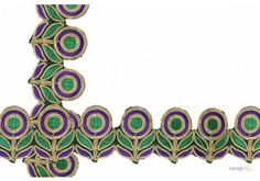 Style No. : 005528  This Saree Ribbon ( Embroidery Cording Lac ) comes with Plain decoration widely used by Apparel & Clothing Industry
