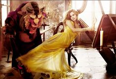 """Headline: """"Breaking News: Guillermo del Toro Is Close To Casting His Beast"""" (Wednesday, July 3, 2013) Image credit: Fashion shoot by ? ♛ Once Upon A Blog... fairy tale news ♛"""