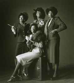 The Pointer Sisters. The 70s do the 40s - these women could sing!