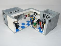 Police Station Booking Line Up Room Lego Ideas Police