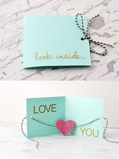 DIY Valentine's Day Card » Little Inspiration