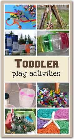 10 fun and easy ideas for keeping little ones amused for hours.